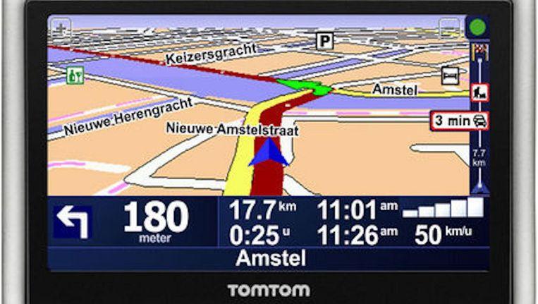 TomTom schrapt de ondersteuning van veertig 'verouderde' navigatiekastjes, waarvoor 'levenslange kaarten' waren beloofd. Beeld TomTom