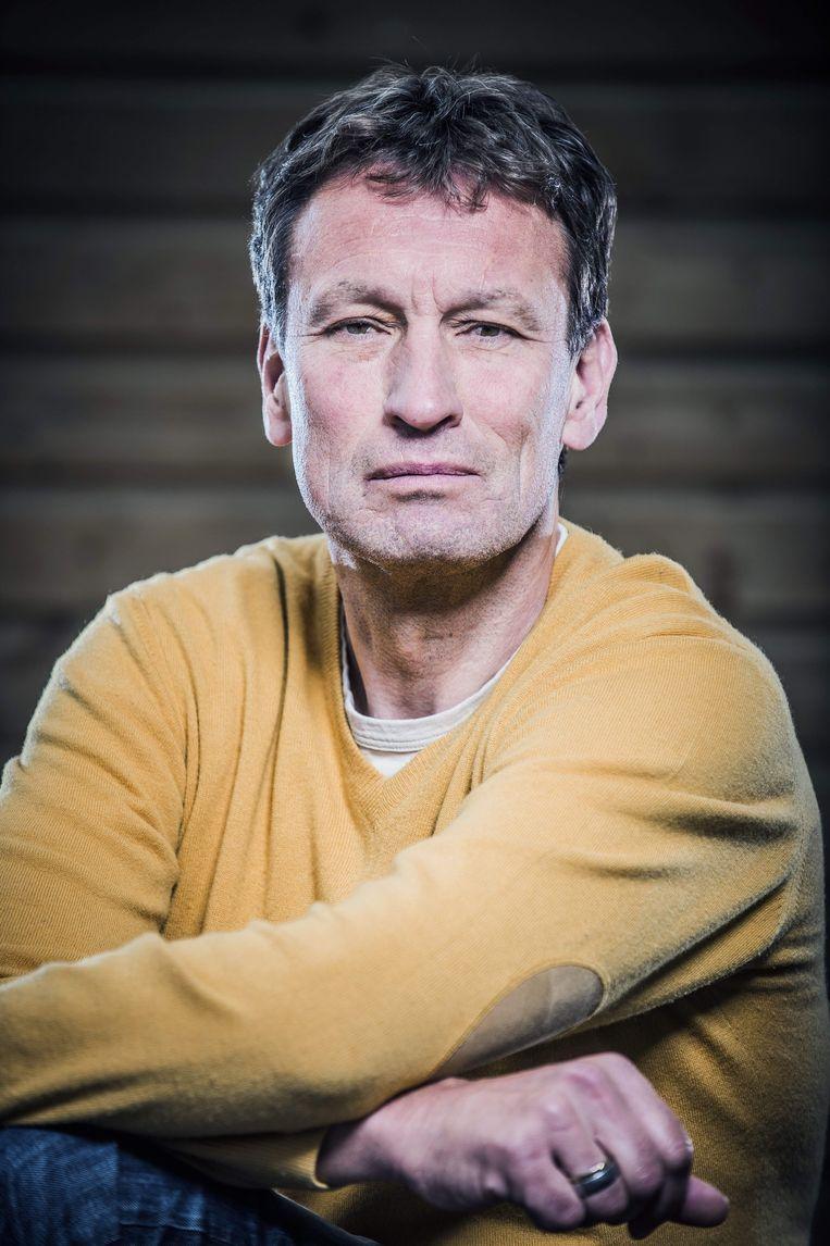 Sportjournalist en -columnist Hans Vandeweghe Beeld Karel Duerinckx