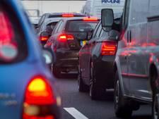Lange file op A1 richting Amersfoort opgelost