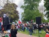 Pro-Palestijnse demonstratie in Nijmegen: 'Free free Palestine'