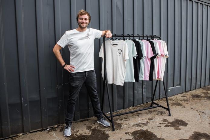 Tom van der Weerd probeert het nu ook als ondernemer.
