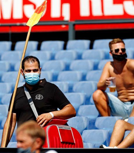 Op deze manier wil Feyenoord de 6500 supporters verdelen in De Kuip