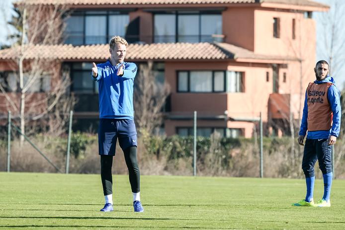 Stef Nijland wil in de tweede seizoenshelft zijn basisplek bij De Graafschap terug.
