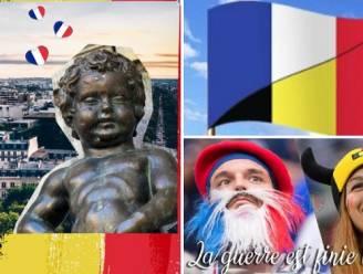 """Met dit initiatief wordt de WK-strijdbijl tussen België en Frankrijk begraven: """"Hebben te veel gemeen om elkaar te beledigen"""""""