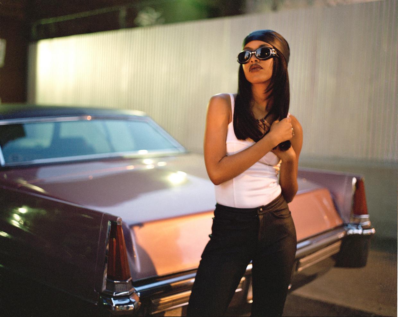 Zangeres Aaliyah had een enorme impact op de r&b- en hiphopwereld. Beeld Marc Baptiste