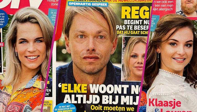 Regi Penxten en Elke Vanelderen op de cover van Dag Allemaal.