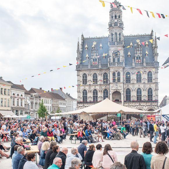 Archiefbeeld - De intergemeentelijke veiligheidscel van de politiezone Vlaamse Ardennen trekt een streep door alle evenementen in augustus en september.