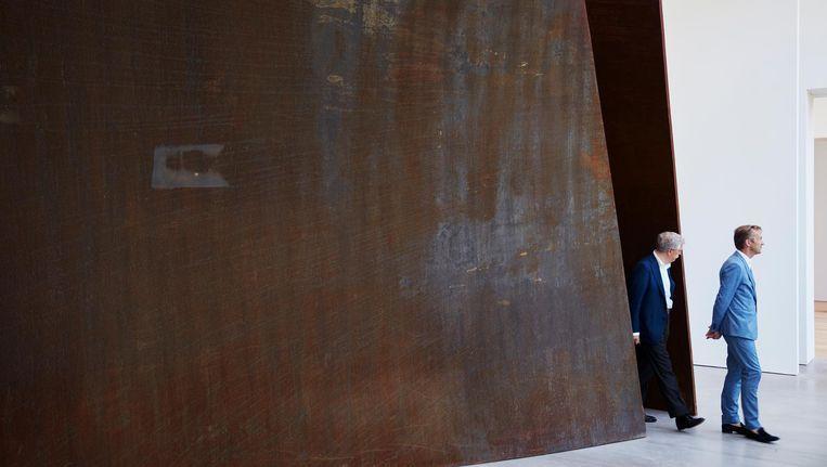 Open Ended van Richard Serra Beeld Erik Smits