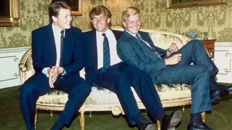 De prinsen Constantijn, Friso en Willem-Alexander. De drie jongens waren verknocht aan elkaar. Beeld ANP