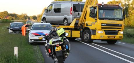 N35 tussen Nijverdal en Wierden afgesloten geweest vanwege ongeluk