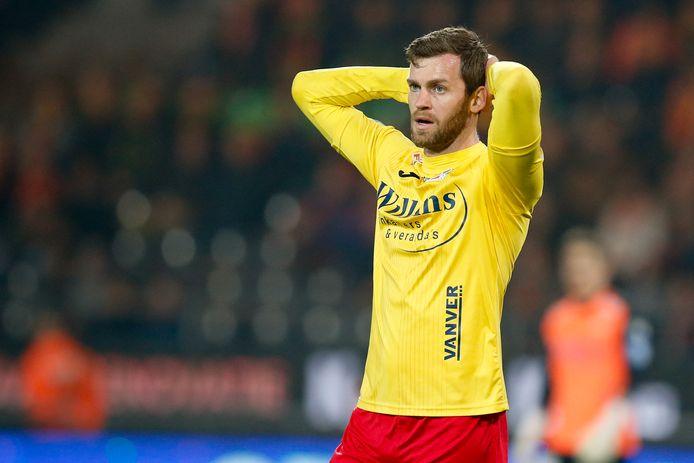 Nicolas Lombaerts bij KV Oostende.
