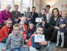 Muisje en Vosje helpen kinderen in Tubbergen mee  met geloven
