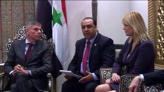 Vlaams Belang in Damascus om Assad-regime te steunen