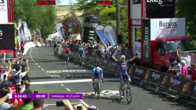 KOERS KORT. Edward Planckaert wint openingsetappe Ronde van Burgos, Bernal kust het asfalt