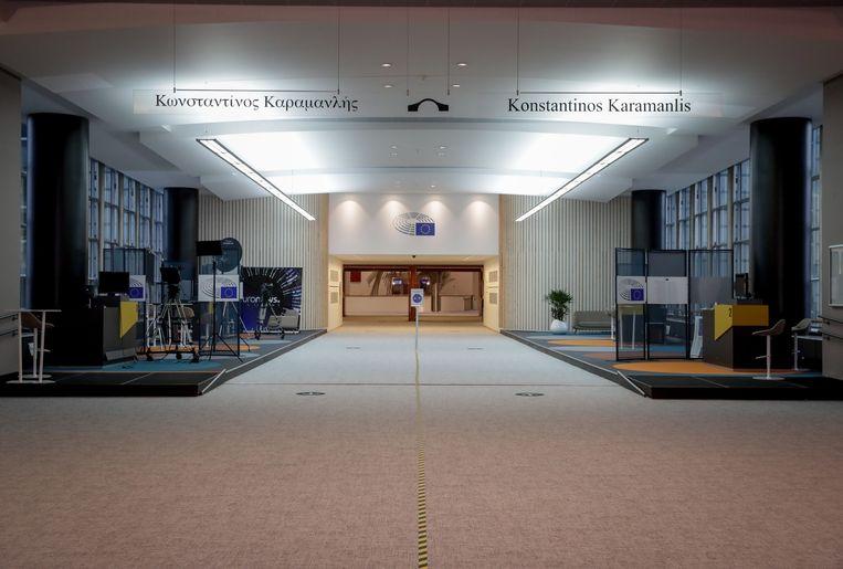 Het Europees Parlement. Beeld EPA