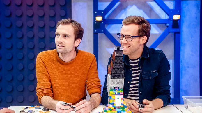 Roy & Thomas in LEGO Masters.