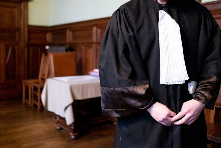 MECHELEN - Een advocaat in de correctionele zittingszaal van de Mechelse rechtbank.