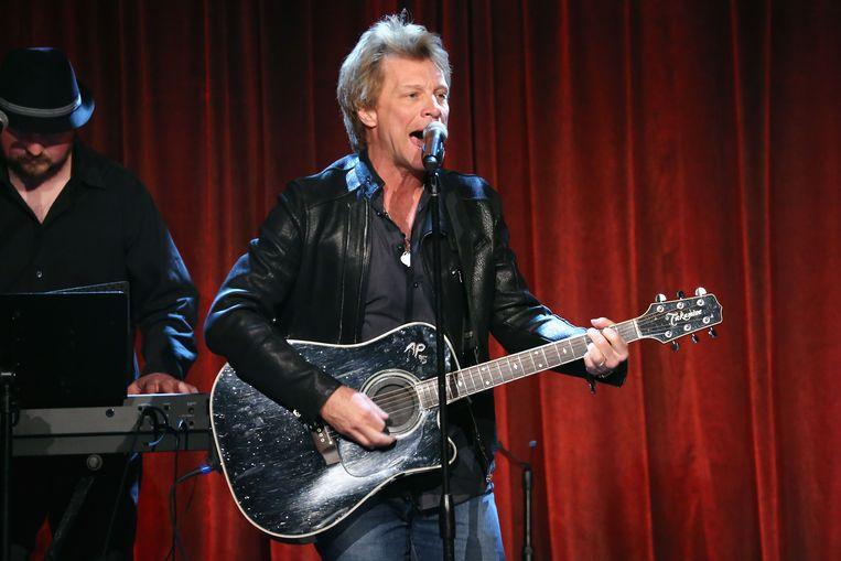 Jon Bon Jovi in New York op 30 april 2013. Beeld AFP