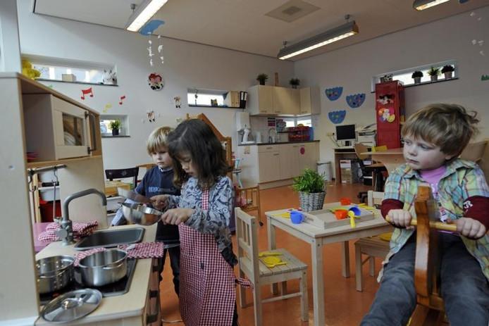 Basisschool De Mheen is de eerste school waar Hetkindercentrum.nl in juni start met flexibele peuteropvang. foto Kevin Hagens