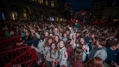 Honderden jongeren op Ontbijt van de Jeugdbeweging in Antwerpen