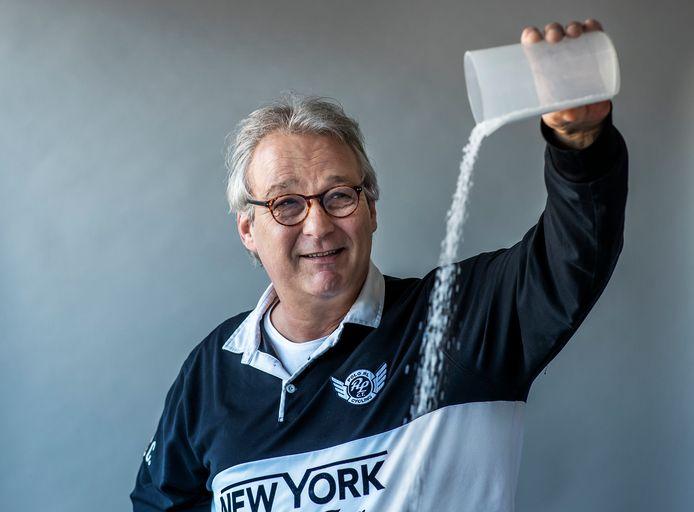 Uitvinder Marc van den Bosch (57) gaat zout winnen in Marokko.