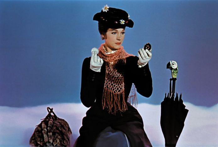 Julie Andrews als Mary Poppins
