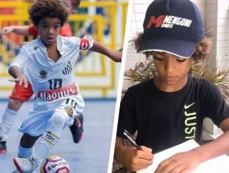 Braziliaans 8-jarig (!) 'rastalent' jongste atleet ooit die profcontract tekent bij Nike