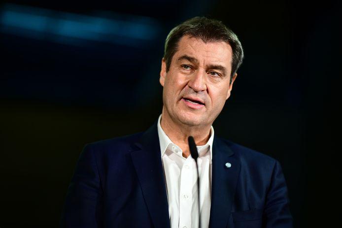 Markus Söder, Perdana Menteri negara bagian Bavaria Jerman dan pemimpin CSU