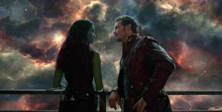 Guardians of the Galaxy. Beeld rv