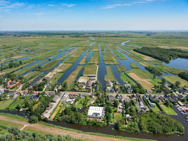 The provincial council and national government both announced a 4 million grant for the Amsterdam Wetlands  Beeld Hollandse Hoogte / Marco van Middelkoop luchtfotografie
