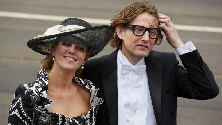 Prins Bernhard en zijn vrouw Annette. Beeld anp