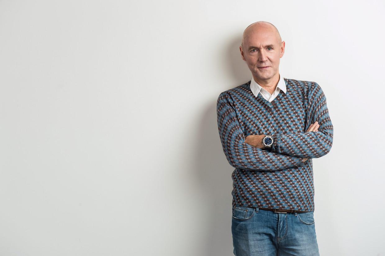 Michel Wuyts: 'Ik heb nog een paar jaar in mij, maar de VRT voert een achterhaalde pensioneringspolitiek.' Beeld VRT - Joost Joossen