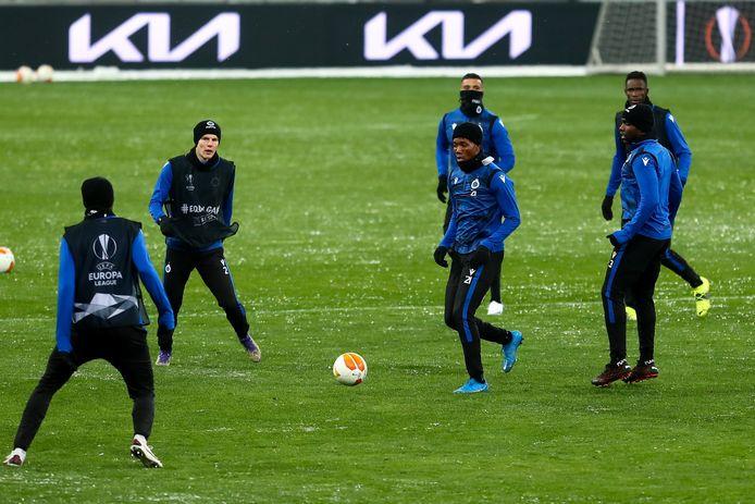 Club Brugge zal vanmiddag voor 10.000 supporters spelen.