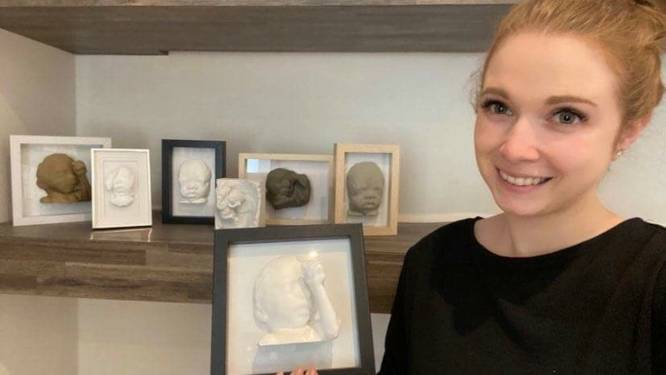 """Jonge mama uit Tessenderlo maakt 3D-prints van sterrenkindjes: """"Een tastbare herinnering voor ouders als steun bij hun verlies"""""""