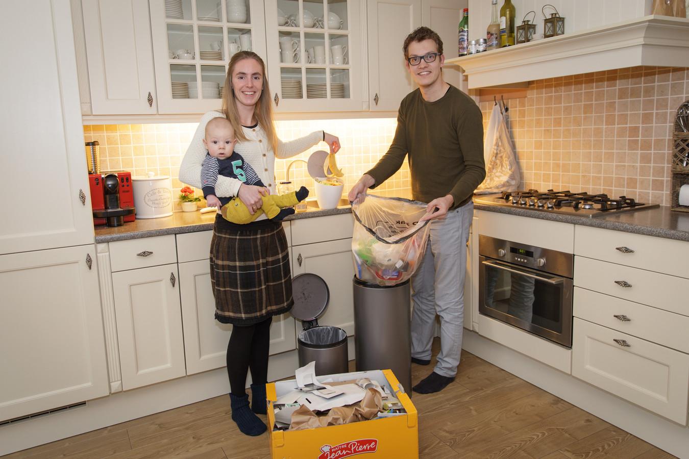 Arjen en Emmelie Quist uit Scherpenisse laten zien dat het ook anders kan, en scheiden hun afval.