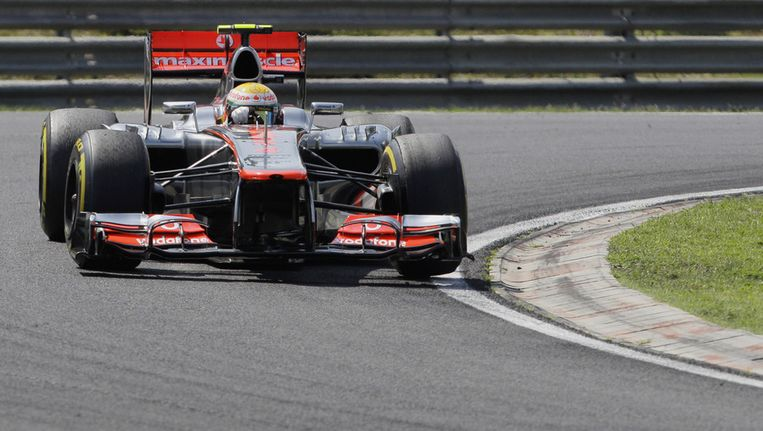 Lewis Hamilton. Beeld ap