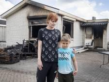 Priscillia redt haar 3 kinderen uit brandende woonwagen: 'Voelde de vlammen langs mijn been gaan'