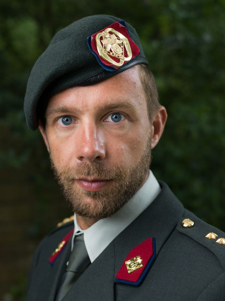 Jaus Müller: 'De krijgsmacht is een masculiene omgeving.' Beeld Ivo van der Bent