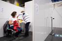 PUURS-SINT-AMANDS Het vaccinatiecentrum in sport- en evenementenhal Binder