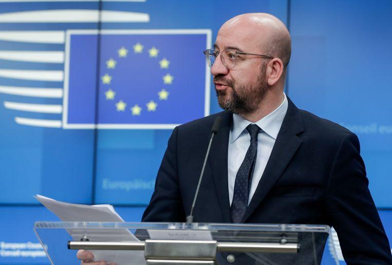 President van de Europese Raad Charles Michel.