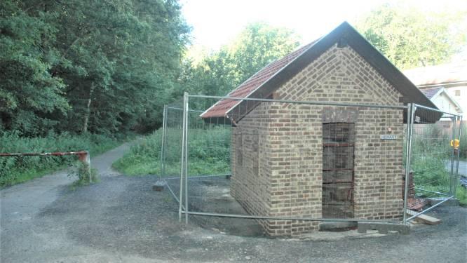 Het blaashuisje langsheen het Mijnwerkerspad (bijna) gerestaureerd, maar wat doet stad er nu mee?