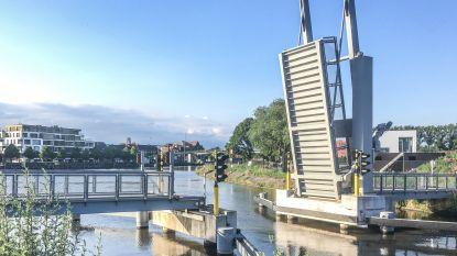 Technisch defect aan fietsersbrug bij jachthaven