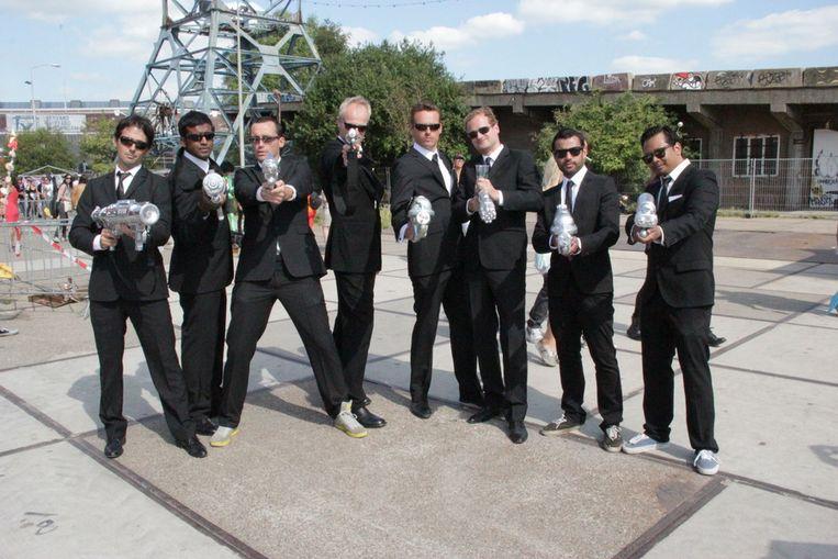 Men in Black. Beeld Nienke van Kamp