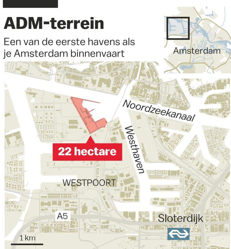 'Een van de eerste havens als je Amsterdam binnenvaart' Beeld Jorris Verboon