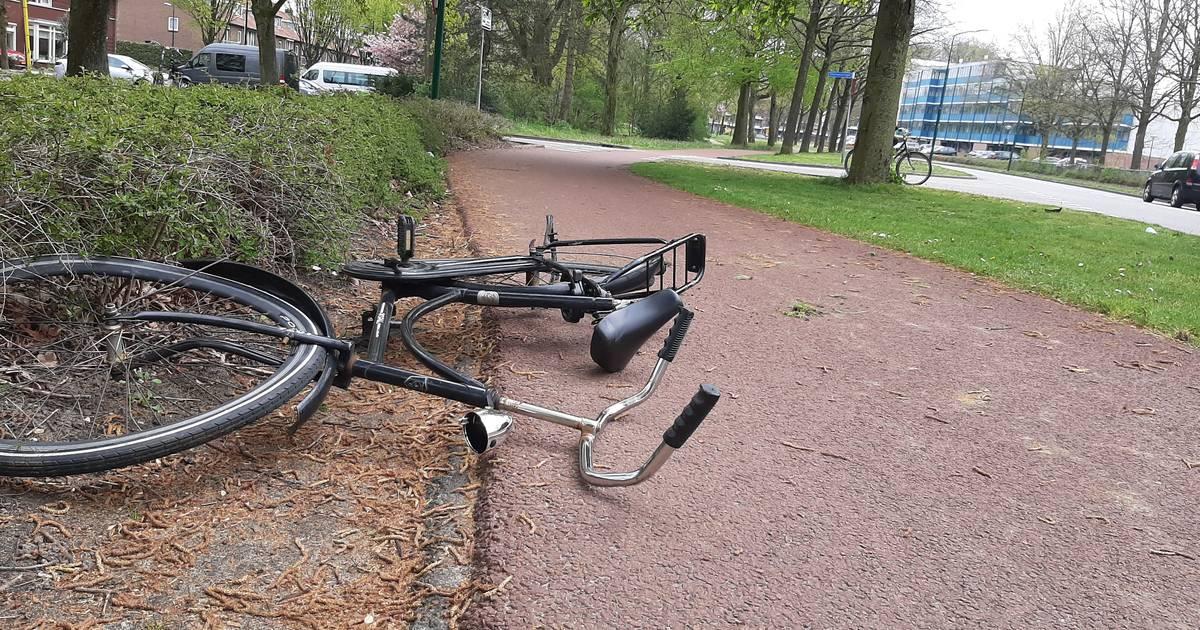 Op t Goeie Spoor gaat het fout: fietser gewond door aanrijding.