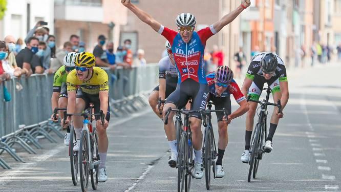 """Jonas Volkaert wachtte bijna tien jaar op zege: """"In sprint met zes hielden ze met mij geen rekening"""""""