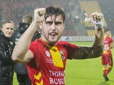Acht voetballers speelden in Deventer en Amsterdam