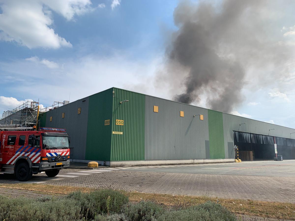 Grote brand bij Heineken.