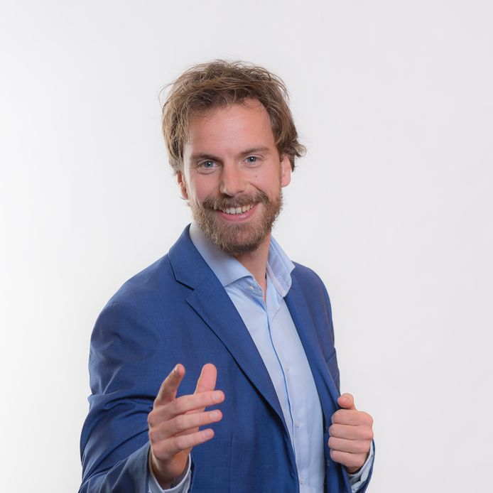 Jasper de Wit, de nieuwe gemeentesecretaris van Wageningen.