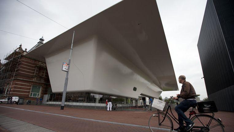 Het Stedelijk museum in Amsterdam Beeld null